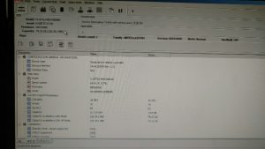 ID information of Fujitsu hard drive during data recovery