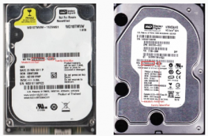 how to find hitachi hard drive serial number