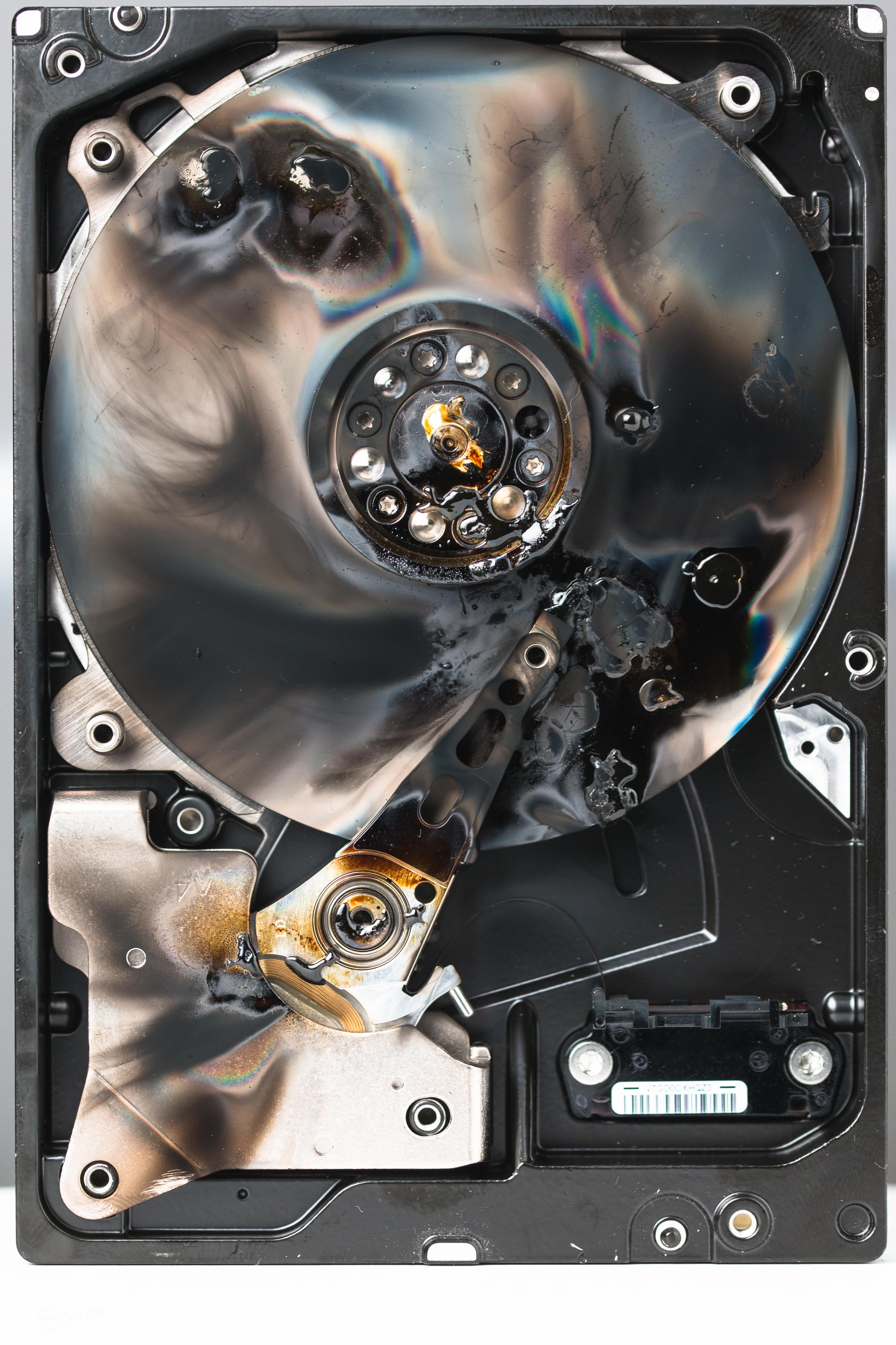 How to destroy a hard drive so that the data cannot be accessed any longer